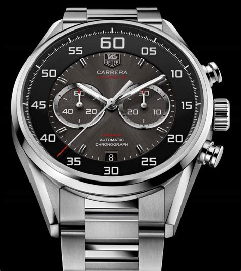 Tagheuer Grand Cal36 Yellow Silver Black Leather look calibre 36 the home of tag heuer collectors