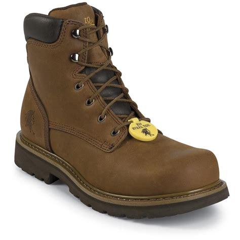 chippewa mens work boots s chippewa 174 steel toe work boots 201536 work boots