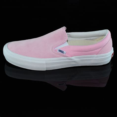 Slip On Shoes Pink slip on pro shoes pink in stock at the boardr