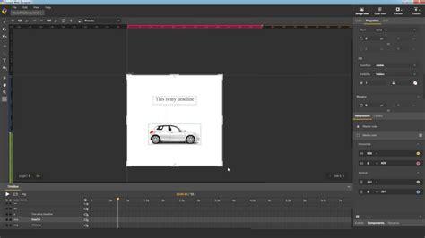 Responsive Layout Animation | responsive layout animation google web designer video