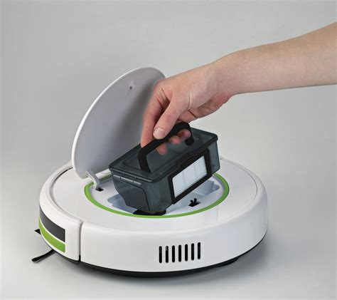 ariete briciola robotic vacuum cleaner 25 watt green