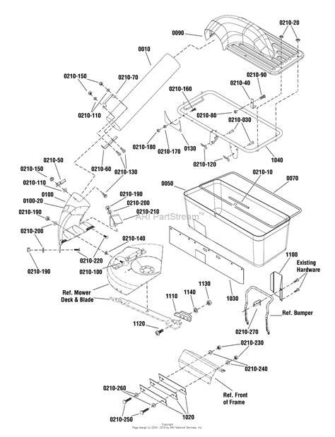 catcher diagram snapper 7600237 grass catcher single bag export parts