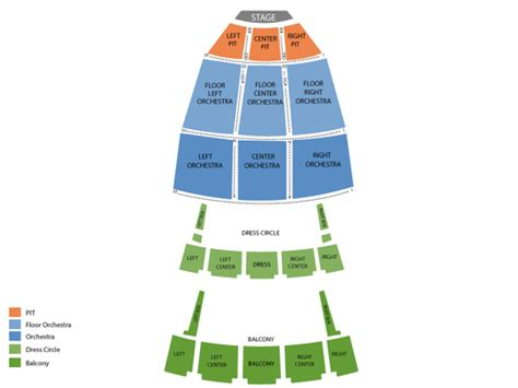 Chrysler Seating Chart View by Viptix Chrysler Tickets