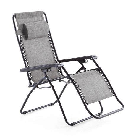 g chair mainstays deluxe zero gravity chair walmart canada