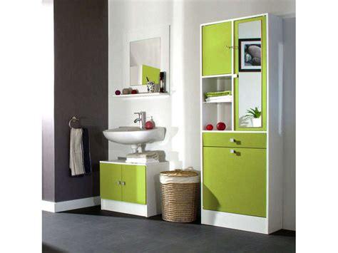 Meuble Lingere by Meuble Sous Lavabo Miroir 232 Re Wave Coloris Vert