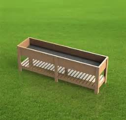 raised planter boxes raised planter and building plans on