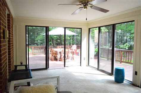 Converting A Sunroom Into A Family Room open er up converting a sunroom into a veranda house