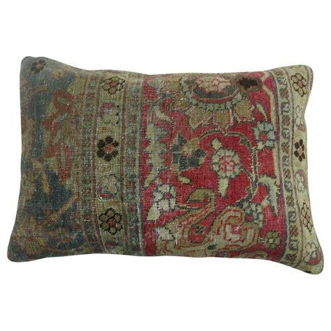 What Size Is A Lumbar Pillow by Tabriz Lumbar Size Pillow For Sale At 1stdibs