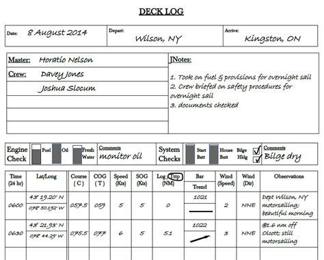 Sailors Log Book complete log book for cruising sailors