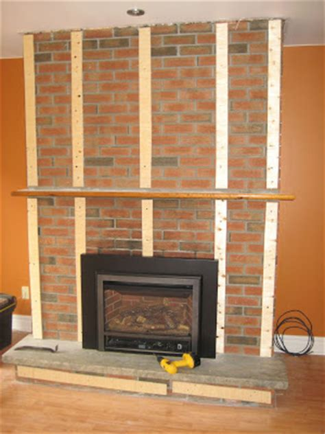 Drywall Brick Fireplace by On The Verge