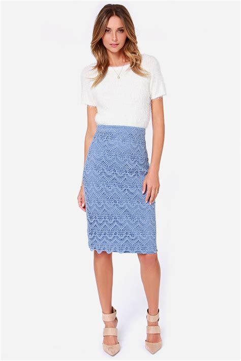 light blue pencil skirt light blue skirt pencil skirt midi skirt 93 00