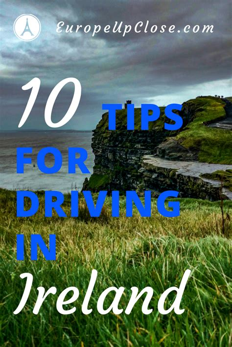 Time Car Insurance Ireland by 10 Tips For Driving In Ireland Driving On The Left