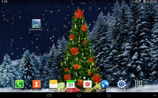 christmas tree live wallpaper aplicaciones de android en