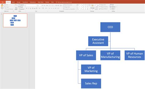 How To Make An Org Chart In Powerpoint Lucidchart How To Make An Organizational Chart In Powerpoint 2010