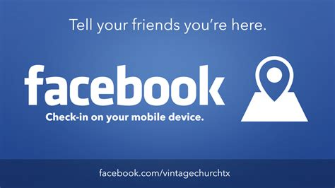 check in on facebook one church resource