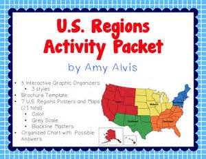 us geography map activity math science social studies oh my foldable