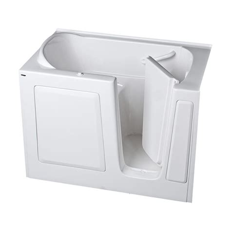american standard walk in bathtub american standard gelcoat standard series 51 in x 31 in