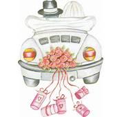Just Married Clipart Wedding  Clip Art Pinterest Hochzeit