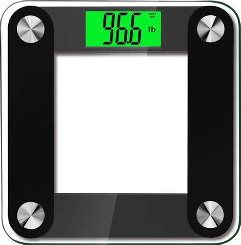 high accuracy plus digital bathroom scale with 3 6 inch