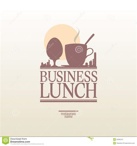 business lunch menu royalty free stock photography