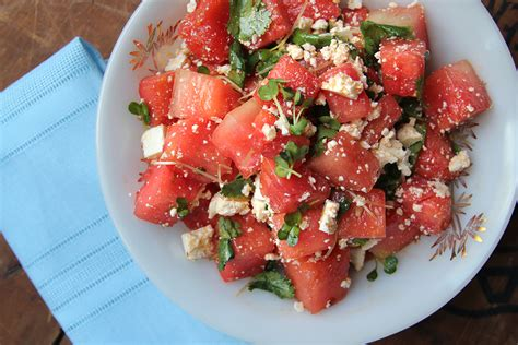 Watermelon Salad With Feta Or Cotija Recipe Dishmaps