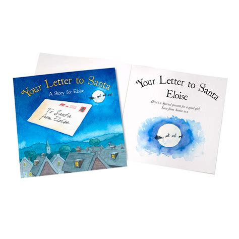 personalised children s book letter to santa all
