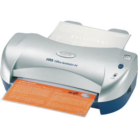 leitz hr 9 a4 office laminator
