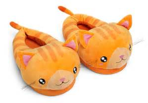 Outdoor Can Lights Kawaii Kitten Slippers For Grown Ups Thinkgeek