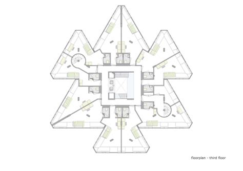 Room Blueprints exodus cube personal architecture bna archdaily