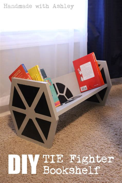 how to build a wars tie fighter bookshelf tutorial