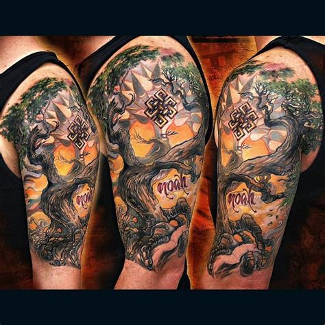bodhi tree tattoo forbidden images studio tattoos litos