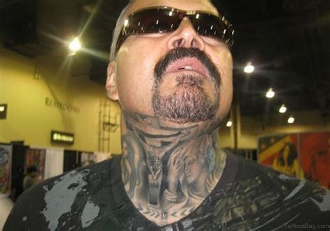 cool neck tattoos 27 spiritual jesus neck designs