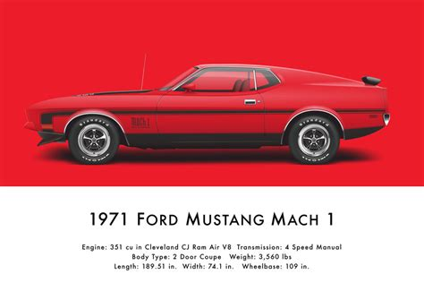 auto body repair training 1971 ford mustang on board diagnostic system 1971 ford mustang mach 1 bright red by artbyedo on