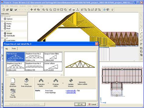 wood roof truss design software  roof design