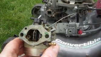 Honda Lawn Mower Carburetor Honda Harmony Ii Hrt 216 Sda Carburetor Cleaning Lawn
