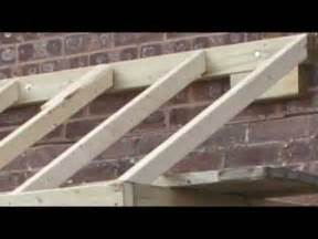 Flashing Patio Door How To Do A Small Pitched Roof Youtube