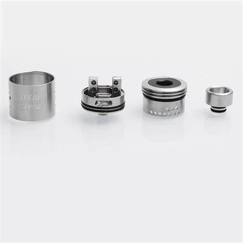 The Troll V2 25mm Rda Atomizer Silver Authentic Sku02039 authentic wotofo freakshow v2 rda silver ss 25mm rebuildable atomizer