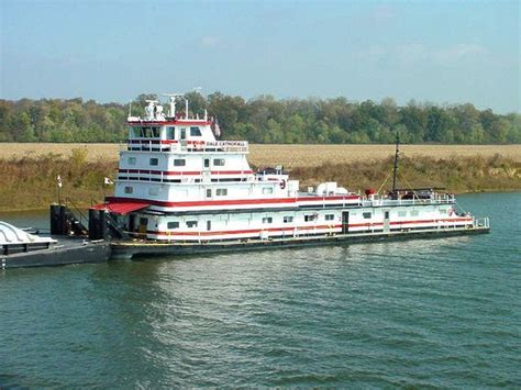 tow boat mississippi dale cathorall towboats pushboats barges mississippi