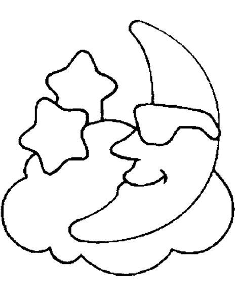 imagenes de luna sol y estrellas para colorear sol luna y estrellas dibujos imagui