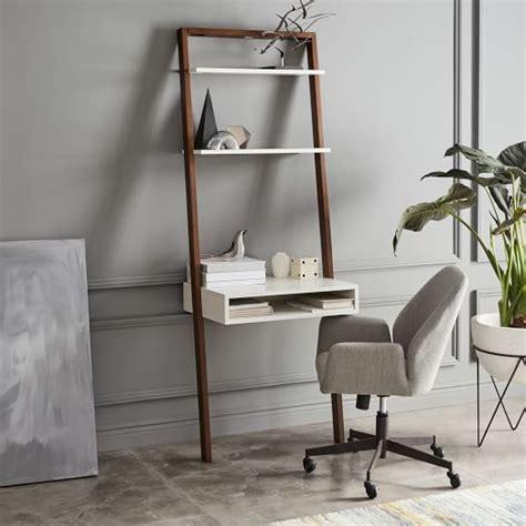 ladder shelf desk white ladder shelf desk white espresso elm