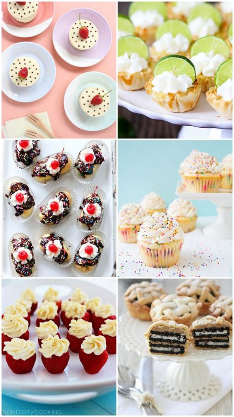 desserts for parties 6 fave mini desserts for a crowd recipes we