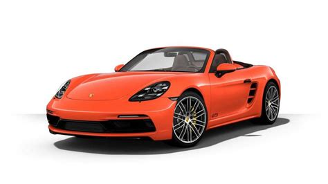 expensive porsche most expensive 2018 porsche boxster 718 gts costs 145 545