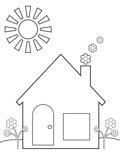 home coloring pages warm up to patrones moldes home