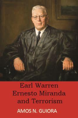 Ernesto Miranda Criminal Record Amos N Guiora