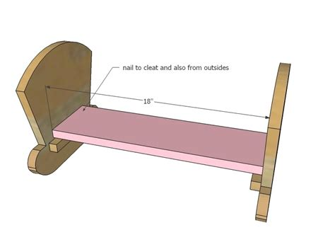 learn wood doll cradle  plans