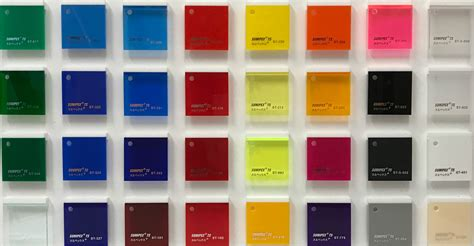 colors for plastics acrylic perspex colors cut to size sheet or plastic