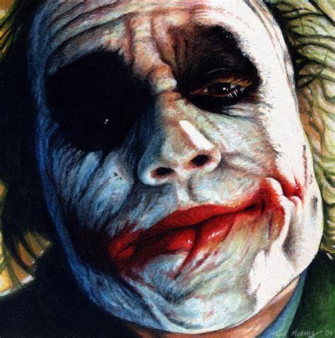 acrylic painting of joker joker s philosophy by trev murphy on deviantart