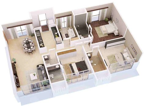 Carpet Construction by 2100 Sq Ft 3 Bhk 3t Apartment For Sale In Vora Skyline