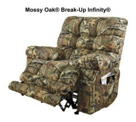 catnapper magnum recliner camo mabey in the cave camo