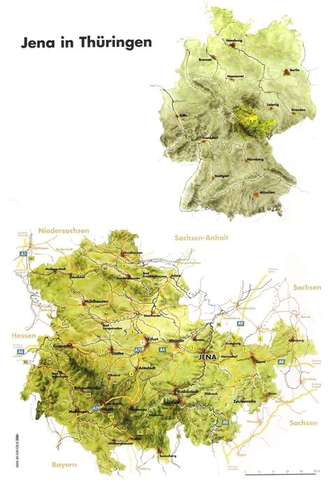 topographic map germany jena topographic map jena germany mappery